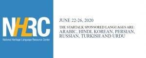 STARTALK/NHLRC workshop for teachers of heritage languages