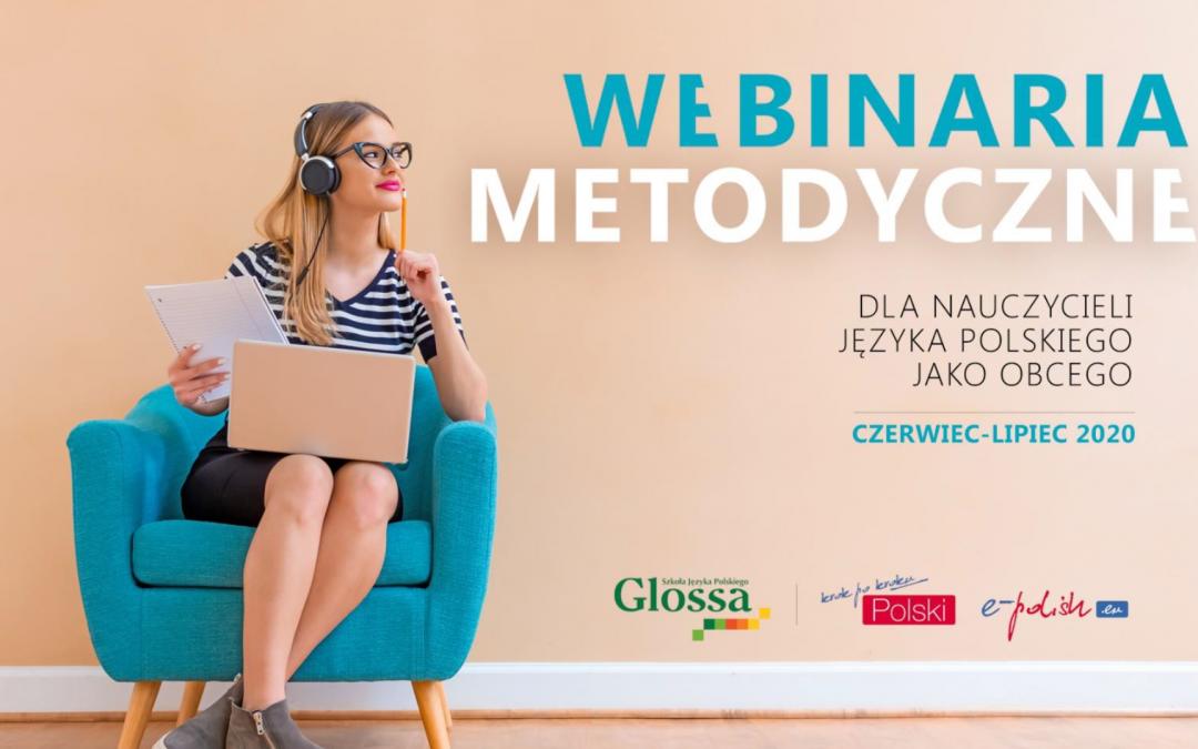 Nowe BEZPŁATNE webinaria metodyczne – polski dla obcokrajowców