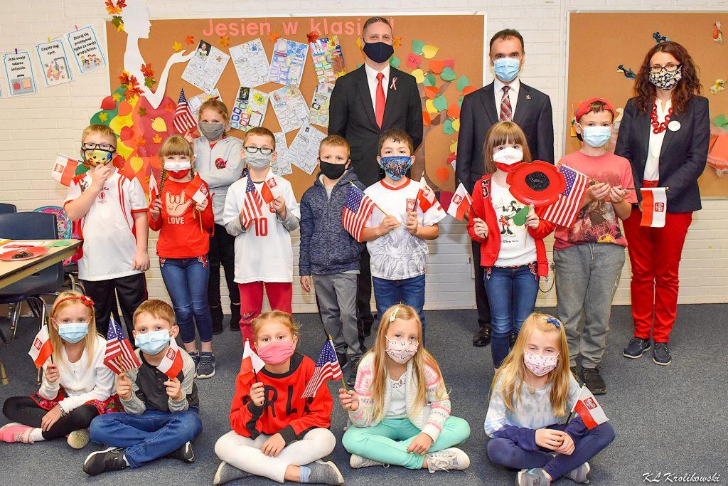 Wizyta Pana Konsula w Szkole im. Marii Konopnickiej
